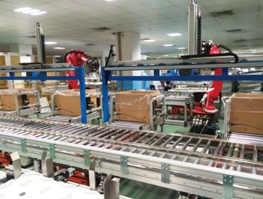 Automotive gearbox casing production line
