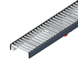 Belt drive roller conveyor
