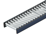 Poly-V belt drive roller conveyor